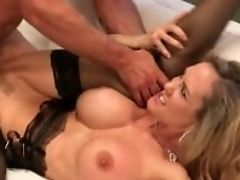 Big Tits, Brandi Love, Bukkake, Cumshot, Cute, Felching, Lingerie, MILF, Mom, Naughty,