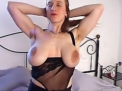 Babe, Big Tits, Hairy, Jerking, Masturbation, Nipples, Saggy Tits,