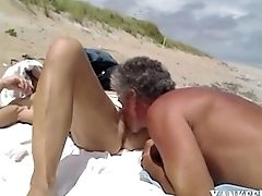 Beach, Couple, Cute, Hardcore, Holiday, Missionary, Oral Sex, Outdoor,