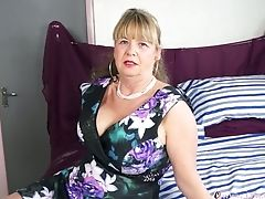 Granny, Mature, Sex Toys, Solo,