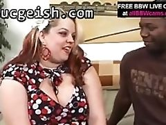 BBW, Big Ass, Big Cock, Big Tits, Interracial,